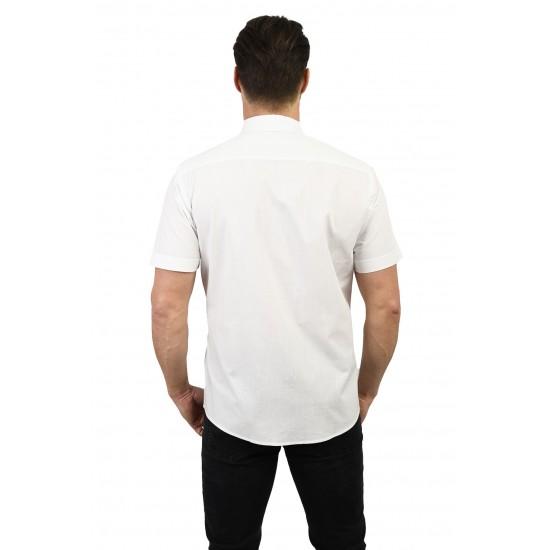 Koszula męska biała krótki...